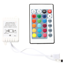 IR Box Remote Controller 24 Keys for RGB LED Light Strip free shipping waterproof led light up serving tray multi colors rechargeable luminous led trays light 24 keys remote controller