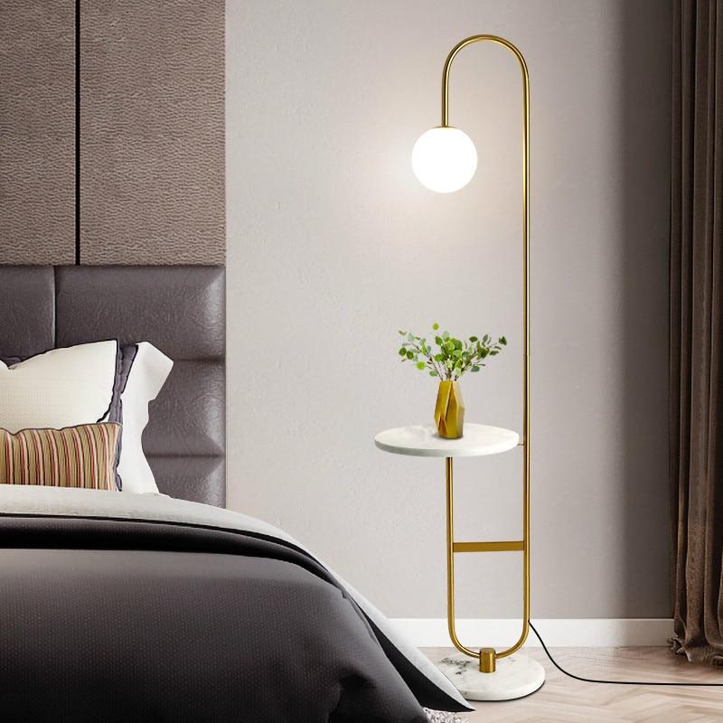 Floor Lamp Living Room Nordic Gl Led