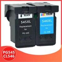 Compatível PG545 CL546 para canon cartucho de tinta pg 545 cl 546 para canon pixma pg545xl MG2950 MG2550 MG2500 MG3050 MG2450 MG3051 MX495