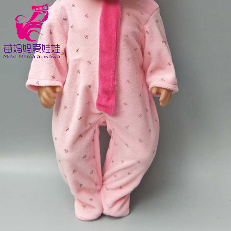 """Vestiti per le bambole per 18 """"baby doll vestiti del ragazzo dei pantaloni cappello per 18 pollici bebe nati bambola vestito della ragazza dei bambini regali di natale"""