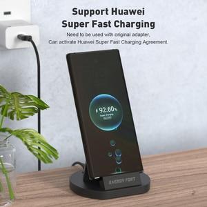 Image 3 - SIKAI 11th Gen 5A Super szybkie ładowanie magnetyczny stojak do ładowania stacji dokującej kabel USB do Huawei Mate 40 Pro magnes szybka ładowarka