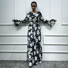 Siskakia Maxi Dress Lily Printed African