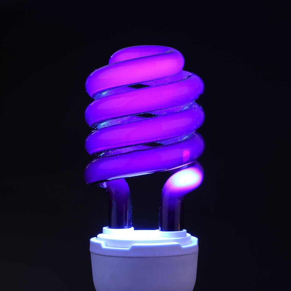 Light Led Fluorescent Bulb 36W Lamp E27 Ultraviolet UV AC220V CFL Bright