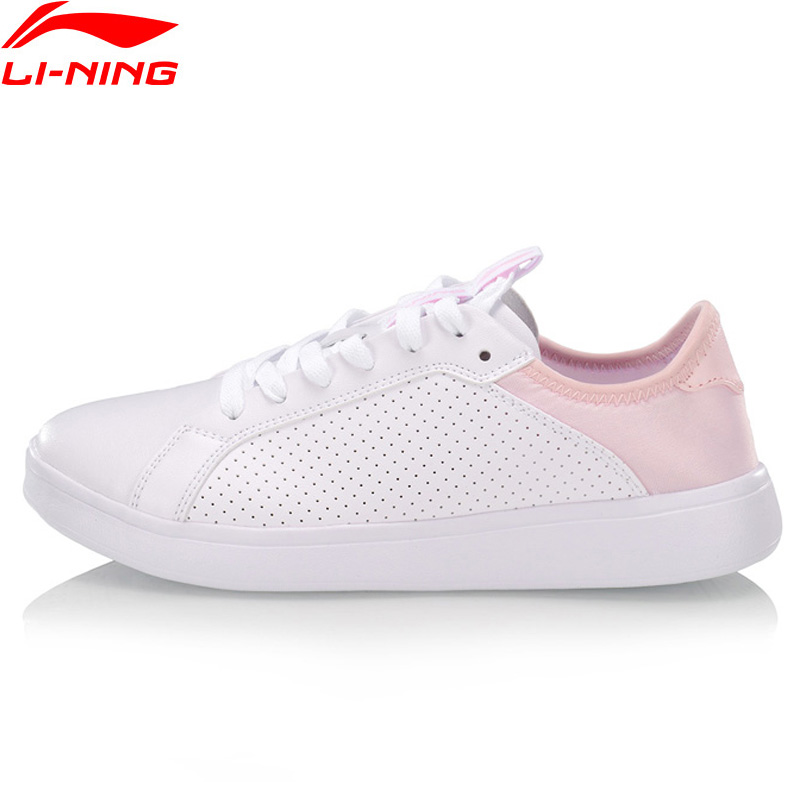 Li-Ning Women ENTERNITY Classic Lifestyle Shoes Breathable Comfort LiNing Li Ning Sport Shoes Leisure Sneakers AGCP104 YXB326