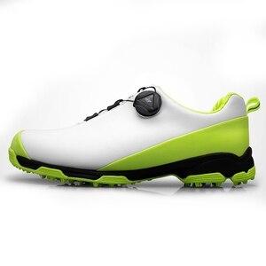 Image 1 - 2020 Golf Schuhe für Männer Atmungsaktive Sport Turnschuhe Wasserdichte Golf Schuhe Nicht Slip Herren Training Turnschuhe Golf Schuhe für Männliche