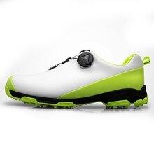 2020 Scarpe da Golf per Gli Uomini Traspirante scarpe Da Tennis di Sport Scarpe Da Golf Impermeabili Antiscivolo Mens Sneakers di Formazione Scarpe Da Golf per il Maschio