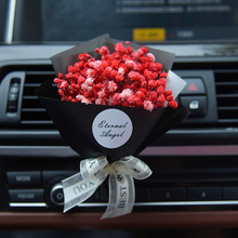 Creative Car Air Freshener Dry Flower Gypsophila Auto Air Conditioning Air Outlet Fragrance Clip Decor Ornament Car Perfume Gift