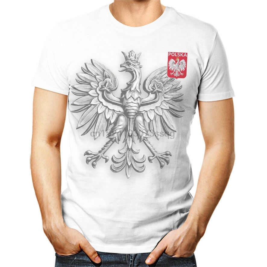 Polsk POLAND футболка унисекс Koszulka Patriotyczna Reprezen