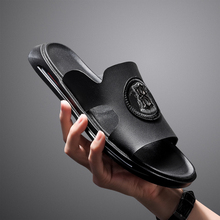 2020 Hot Sale Outdoor Slippers Men Black Casual Shoes For Me