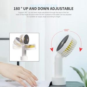 Мини вентилятор Portabl 3 скорости USB Перезаряжаемый персональный ручной воздушный кулер регулируемые вентиляторы для офиса и дома