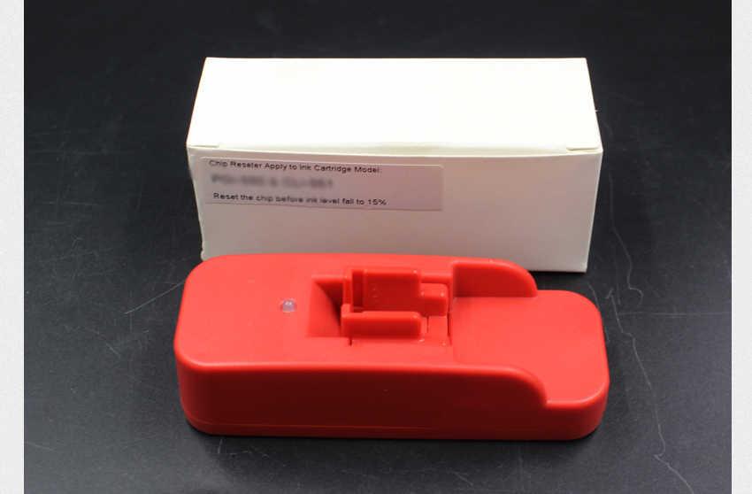 Pgi550 Chip Resetter untuk Canon IP7250 MG5400 MG5450 MG5550 MG5650 MG6450 MG6650 MX725 MX925 MG6350 MG7150 IP8750 MG7550 Printer