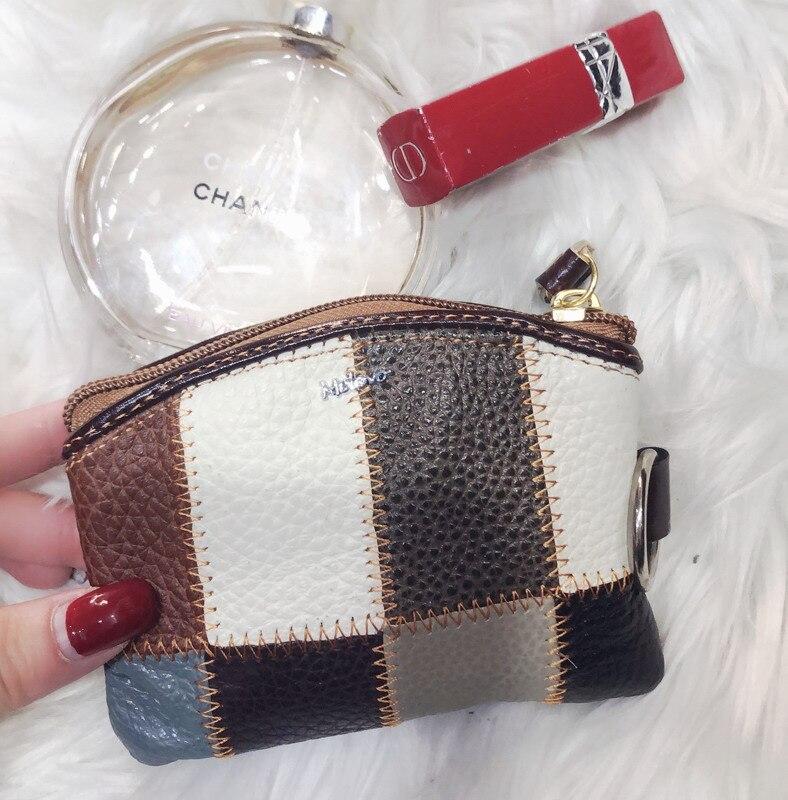 100% Genuine Leather Women Wallet Men's Casual Short Small Mini Wallets Slim Coin Purse Card Holder Zipper Coin Pocket Carteira