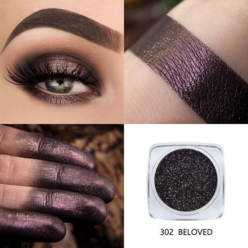 12 цветов Блеск тени для век порошок алмазные губы глаза сильно пигментные мерцающие Косметические профессиональные тени для век