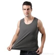 Vest Men's Plus-Size Round 8xl Winter Velvet Autumn And Fertilizer Neck-Base De Warm