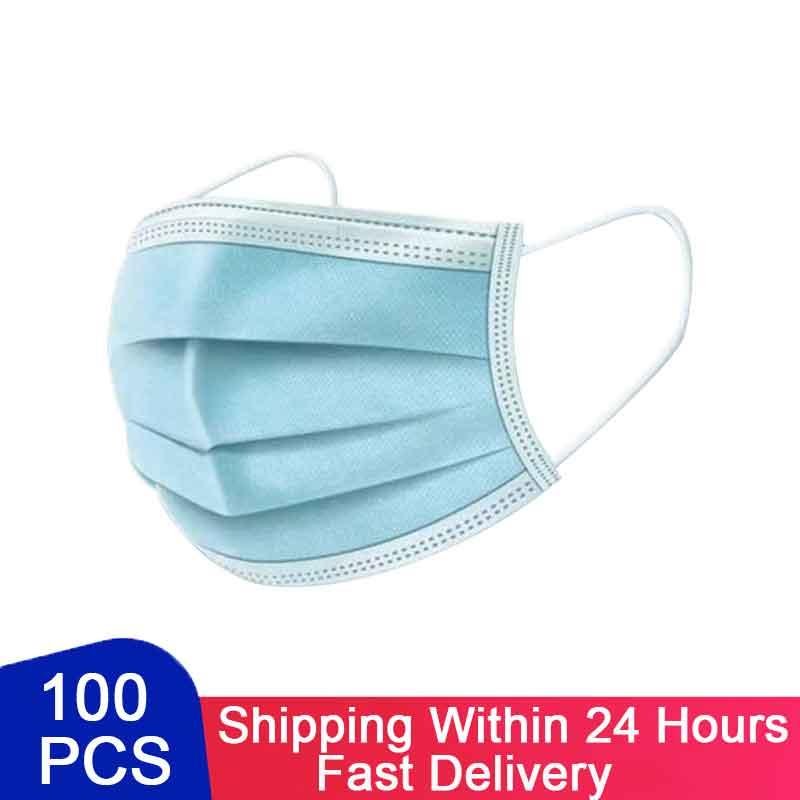 Одноразовая Защитная маска для рта Rousky, маски для лица, противопыльные маски для лица, фильтр, нетканый хлопок, Rouska