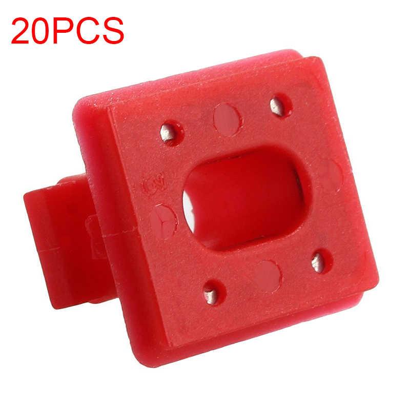 20pc 車のダッシュボード固定バックル bmw E46 E65 E66 E83N 挿入グロメットインテリアパネルファスナーインテリアアクセサリー