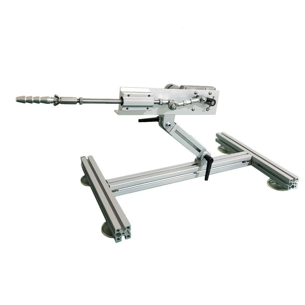 Линейный привод с возвратно-поступательным циклом и металлическими стойками, 30-150 мм