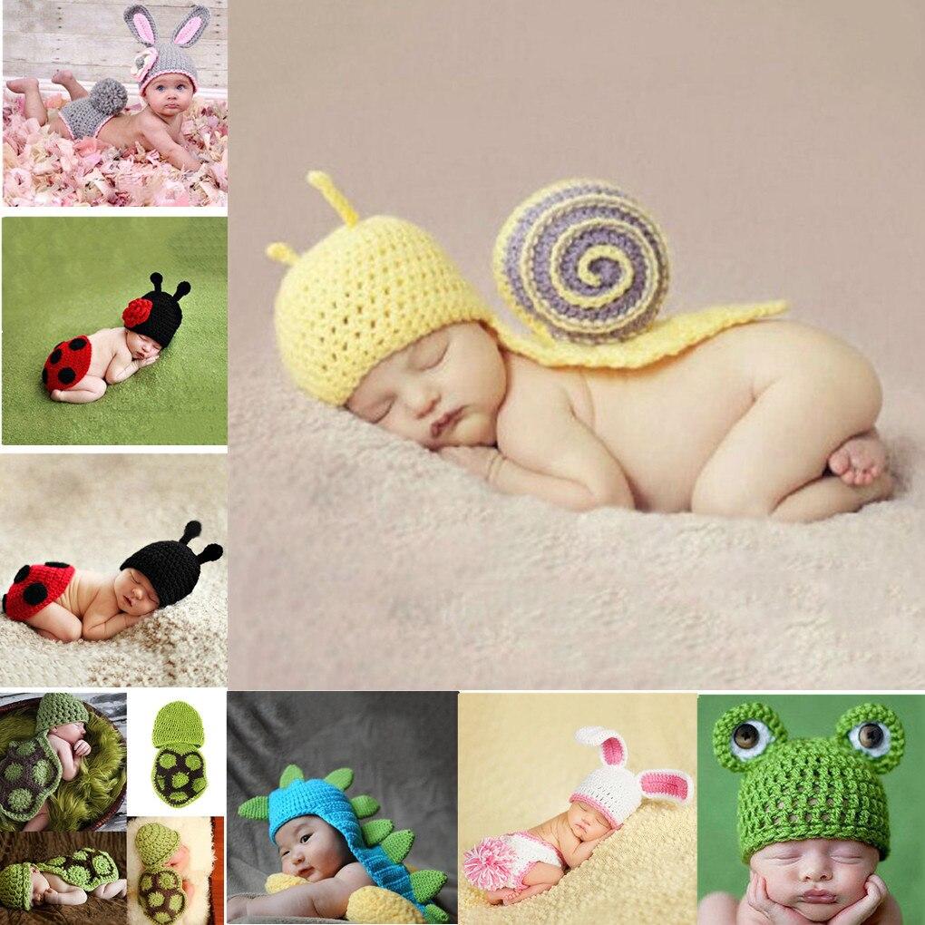 Новая изящная одежда для малышей крючком фотография фото шляпа, комплект с цветочным принтом, костюм новорожденного ребенка реквизит шорты...