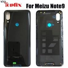 מקורי זכוכית לmeizu הערה 9 חזור סוללה כיסוי דלת אחורי זכוכית Meizu Note9 סוללה כיסוי הערה 9 דיור מקרה + צד מפתח
