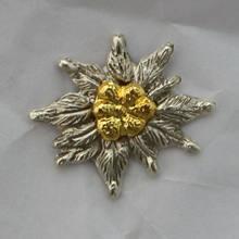 ميدالية جبل إيديلويس الألمانية من الحرب العالمية الثانية ، الزي العسكري ، شارة صغيرة ، ميدالية armyshop2008