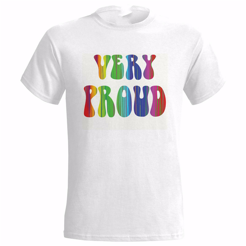 Very Proud Lgbt Design Mens T <font><b>Shirt</b></font> Pride Lesbian Gay Trans Gender <font><b>Bisexual</b></font> Gift Cool Casual Tee <font><b>Shirt</b></font> image