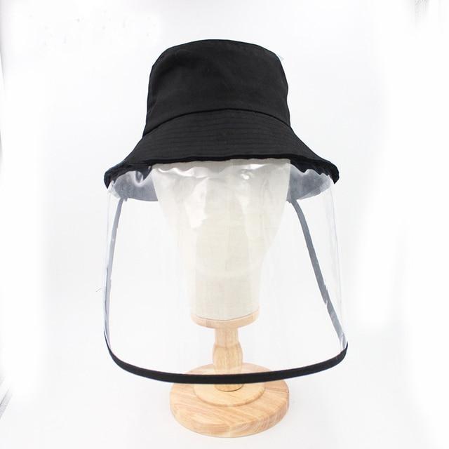 Anti Virus Mask Protective Anti-saliva Dust-proof Sun Hat Safety Full Face Shield Mask Protection Tool Fisherman Fishing Cap 3