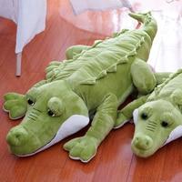 Green big eyes crocodile Children plush toy crocodile animals Valentine's Day gift kids baby stuffed toy