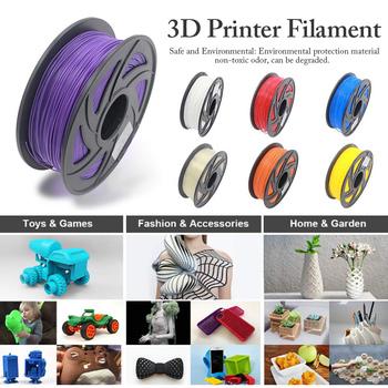 PLA Filament 1 75mm 330M nietoksyczne elastyczne materiały eksploatacyjne do drukarek 3D szpula 1kg (2 2lbs) dokładność wymiarowa + -0 02 Mm tanie i dobre opinie tmddotda Stałe 320 metrów 3D Printer Consumables PLA Filament 1 75mm 330M Non-toxic Flexible 1kg Spool (2 2lbs) 3D Printer and 3D Pen