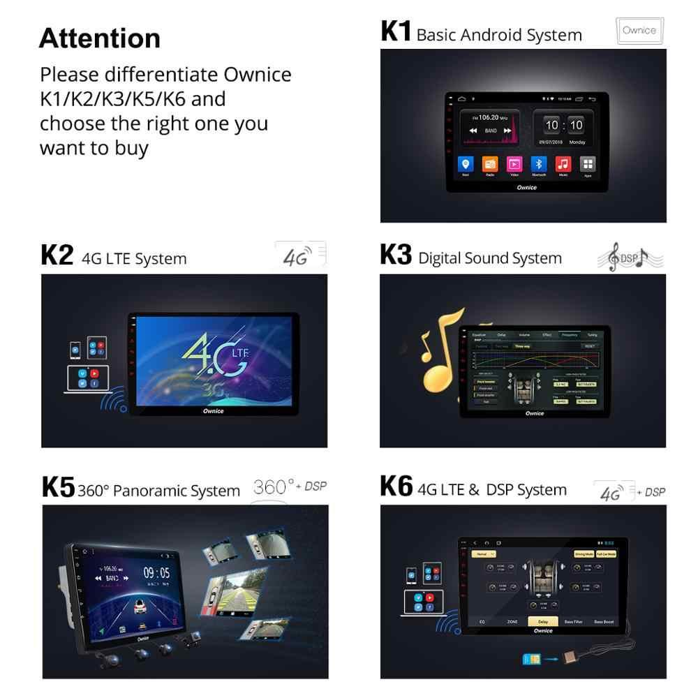 Ownice オクタコアの Android 9.0 車の DVD プレーヤー carplay ラジオ GPS ステレオ 360 パノラマ DSP 4 3g 用シボレー Epica 2006 2007-2012