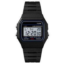 Деловые мужские часы, водонепроницаемые повседневные часы, силиконовые цифровые наручные часы, мужские часы Erkek Kol Saati, мужские часы