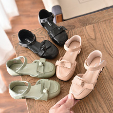 Kids Girls Shoes New Summer Girl Casual Fashion Sandals Spring Autumn Princess  Baby Bowtie Sweet Leather