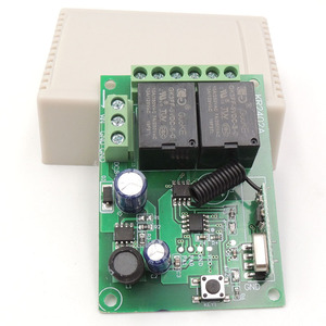 Image 5 - 433Mhz RF Remote Control Circuit Universal Wireless Switch DC 5V 12V 24V 2CH rf Relay Receiver and Keyfob Transmitter for Garage