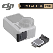 DJI Osmo عمل USB C غطاء ل DJI oomo عمل كاميرا صد الغبار المياه من USB C ميناء MicroSD فتحة للبطاقات DJI الأصلي أجزاء