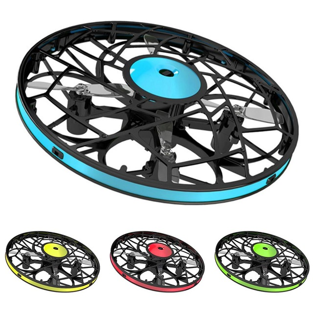 UFO Sensor Induction Aircraft Suspension Kids Toy High Quality Gesture Sensing Four-Axis UFO Mini Drone