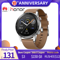 IN STOCK Global Version Honor Magic Watch 2 46MM 5ATM Water Resistant GPS Smartwatch Men with Bluetooth Call Music for Android
