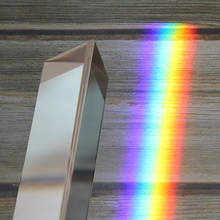 Многоразмерная треугольная призма K9, Оптические Призмы, стекло для преподавания физики, светоотражасветильник спектр, радужные товары для ...