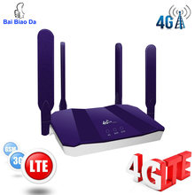 3g 4g Router Wifi Wi Fi Modem Wi-fi Lte Access Point Mobile Cpe antenna Hotspot Outdoor Bridge With A Sim Card Slot