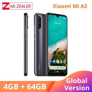 "Image 3 - Global Version Xiaomi A3 Mobile Phone Mi A3 4GB 64GB Smartphone 4030mAh 6.088"" AMOLED Screen Display 48MP 32MP AI Camera"