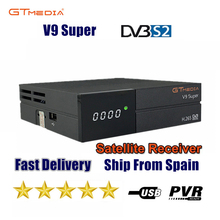 새로운 GTmedia V9 슈퍼 위성 수신기 Freesat V9 슈퍼 업데이트 된 GTmedia V8 Nova V8 Super WiFi 내장 APP 포함