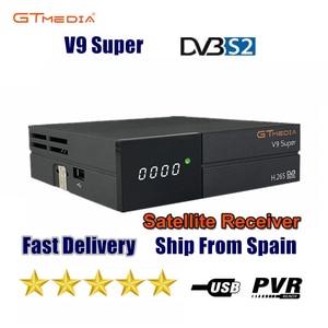 Image 1 - جهاز استقبال قمر صناعي جديد من GTmedia V9 جهاز Freesat V9 تحديث فائق من GTmedia V8 Nova V8 مزود بخاصية الواي فاي المدمجة بدون تطبيق