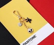 2020 New Creative Mickey Earphone Set Keychains Key Bag Pendant Key Chain Mickey Earphone Set Key Bag Pendant Key Ring 2020 new key chain duck key chain mickey daisy key ring pendant student schoolbag pendant the best gift