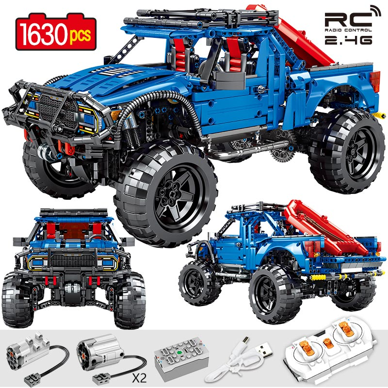 729pcs City Remote Technology Model Building Blocks Legoing Technic RC F1