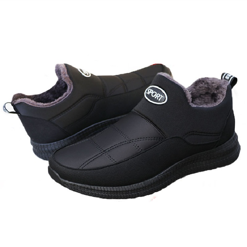 de pouco peso inverno quente botas curtas