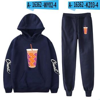 Nes Charli Damelio Merch Hoodie Womens Tracksuit Sweatpants Suit Charlie Damelio Shirt Trousers Sets Unisex Clothes Print Casual 27