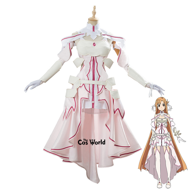 Sword Art Online Sao Alicization War Of Underworld Yuuki Asuna Uniform Dress Outfit Anime Cosplay Costumes Aliexpress