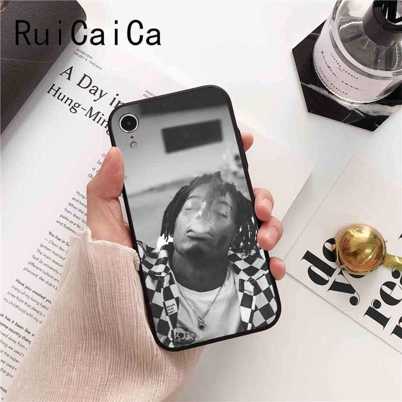 Ruicaica Playboi Carti Rapper mode Zachte Siliconen TPU Telefoon Case voor iPhone 8 7 6 6S 6Plus X XS MAX 5 5S SE XR 10 Cover