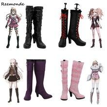Junko-Shoes High-Heel-Shoes Komaeda-Boots Enoshima Cosplay Girls Danganronpa Nagito 2