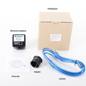 Image 3 - Angeleyes 2.0mp electronic eyepiece CMOS  500W color telescope electronic eyepiece USB connection computer full frame HD camera