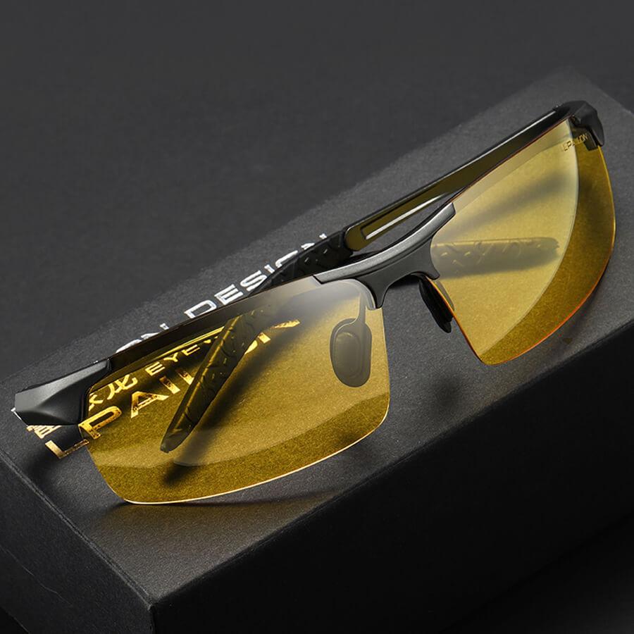 Driver Night Glasses Driving Polarized Sunglasses Men's Car Night Vision Oculos Escuros Driver Night Lightening Gafas De Sol