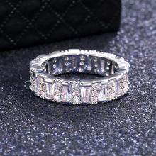 Женское Обручальное Кольцо ustar обручальное кольцо с квадратным